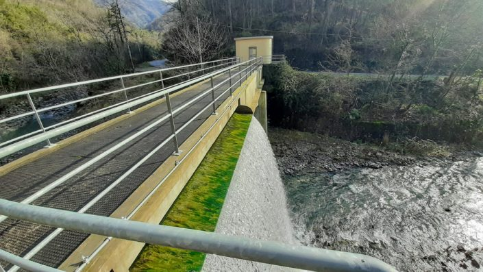 Il ponte in Val Canate